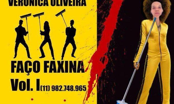 Faxineira e influencer, Veronica Oliveira começou divulgando seu trabalho no Facebook