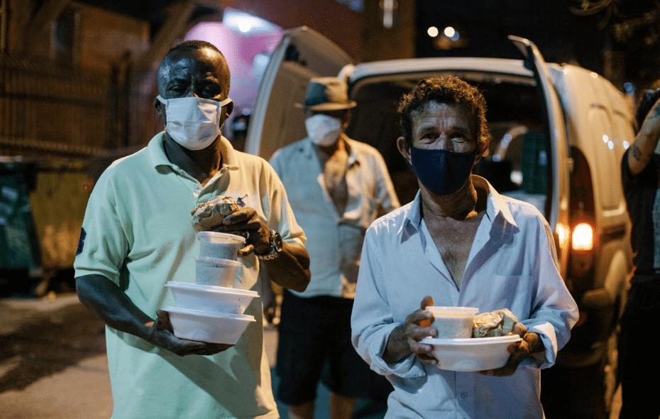 cozinhas solidárias combatem fome na pandemia