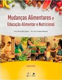 Capa do livro Mudanças alimentares e educação alimentar e nutricional