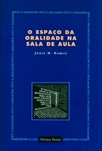 """Capa do livro """"O espaço da oralidade na sala de aula"""""""