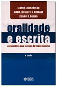 """Capa do livro """"Oralidade e escrita sob a perspectiva do letramento"""""""