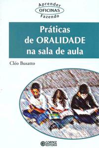 """Capa do livro """"Práticas de oralidade na sala de aula"""""""
