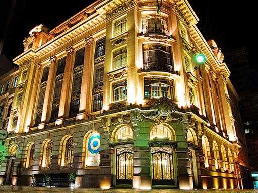 Imagem do edifício do Banco do Brasil no Rio de Janeiro