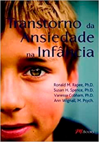 Capa do livro Transtorno da ansiedade na infância