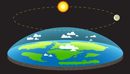 Foto de metade do planeta terra. Ele é visto de cima iluminado pelo sol.
