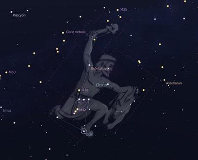 constelação de Órion