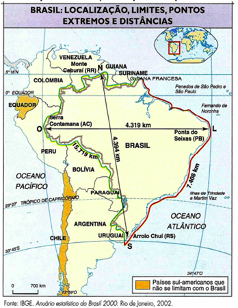 localização brasil