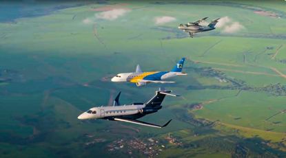 aviões a jato