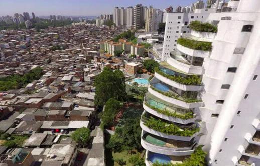 desigualdade em paraisópolis