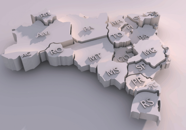 regionalização do espaço geográfico