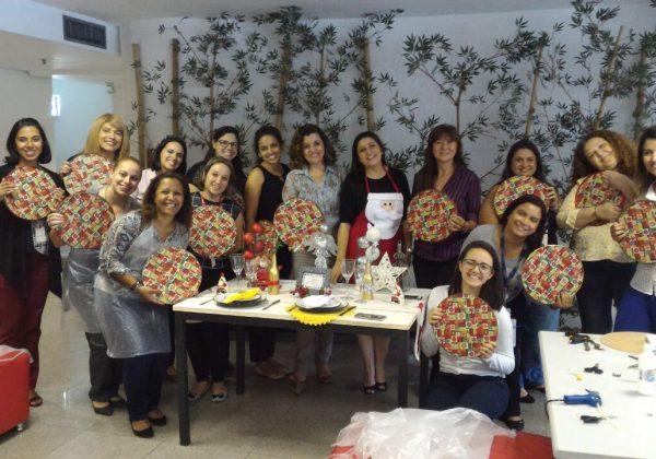Foto de um grupo de mulheres participando do programa Bem-Estar